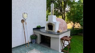 How to build a Pompeii Wood Fired Brick Pizza Oven