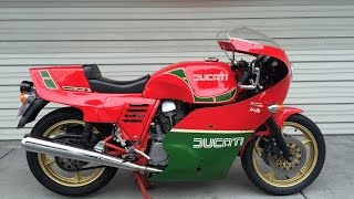 DUCATI 1000 MHR Mille Electric start