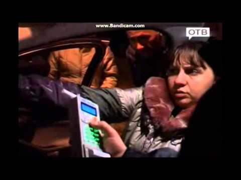 ГИБДД Владивостока прихватили пьяную маёршу за рулём