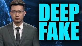 A Chinese News Station Now Has AI News Anchors. #DeepFake Is Real, And It?s Scary.