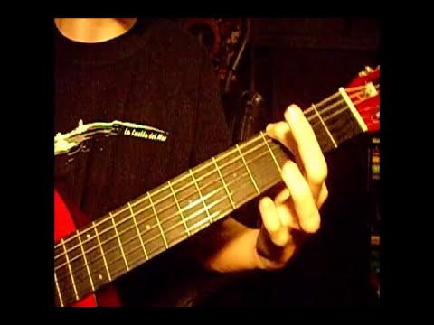 Ejercicio para mejorar velocidad guitarra - Espejo