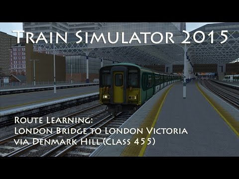 In this fourth video of the route learning tutorial series for Train Simulator, we take a Class 455 and drive it from London Bridge to London Victoria via Denmark Hill - the inner route. I've...