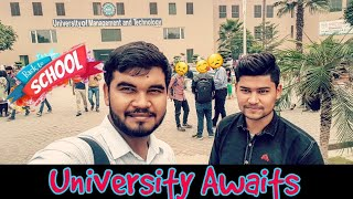 BACK TO UNIVERSITY - Ragging & University life