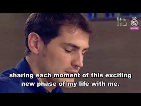 Iker Casillas full farewell speech, english subtitles