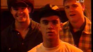 excerpts from the MTV's Hit List UK with Take That (Dec, 1993)