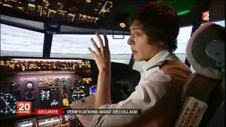 Quel risque météo pour un avion de ligne ? Reportage JT France2