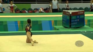 MORENO Alexa (MEX) - 2016 Olympic Test Event, Rio (BRA) - Qualifications Floor Exercise