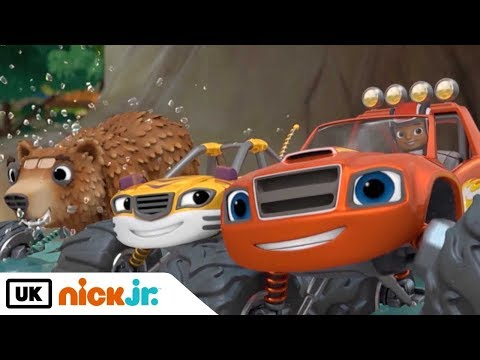 Blaze and the Monster Machines | Sing Along: Animal Island | Nick Jr. UK