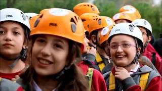 Özel neva okulları öğrencileri macera parkı ziyaret etti.