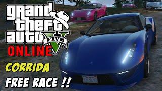 GTA 5 Online - Corrida Free Race: Curvas insanas em Vinewood hills