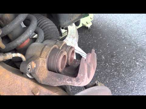 Replace Brake Pads on F150 4X4 2007