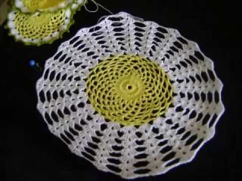 Youtube Crocheting : JUEGO DE TE EN CROCHET PARTE #3 - YouTube