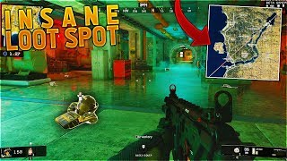 The #1 BEST Place To Find LOOT in Blackout Battle Royale! (BO4 BEST LOOT SPOT)
