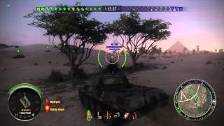World of Tanks Xbox ONE Panther M10 Premium Tank Sand River
