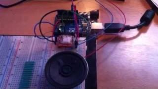 Arduino somo-14d sound test