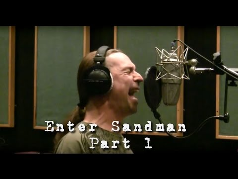 HOW TO SING LIKE JAMES HETFIELD - METALLICA - ENTER SANDMAN PT. 1