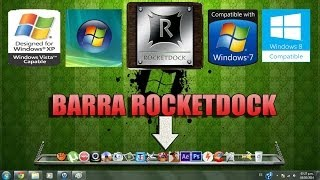 Descargar  RocketDock para windows 7 8  xp  vista