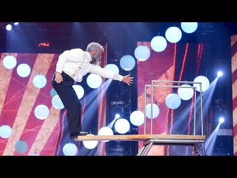 Владимир Георгиевский. Категория «Цирк 21 века». «Лига удивительных людей»
