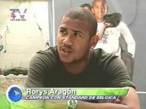 Rorys Aragón de vuelta en Ecuador