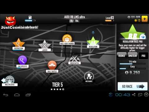 CSR Racing Android [PC Gameplay with BlueStacks]