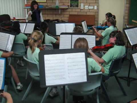 The Dark Island played by the Oberthur Primary School String Ensemble under the direction of teacher Laurissa McCarthy and accompanied on piano by Rosemary Michael. One of four pieces of a...