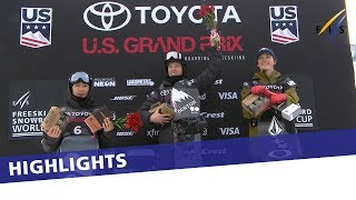 Shaun White scores a 100 to win Snowmass Halfpipe World Cup | Highlights