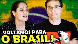 O QUE ACHAMOS DO BRASIL DEPOIS DE 4 ANOS LONGE