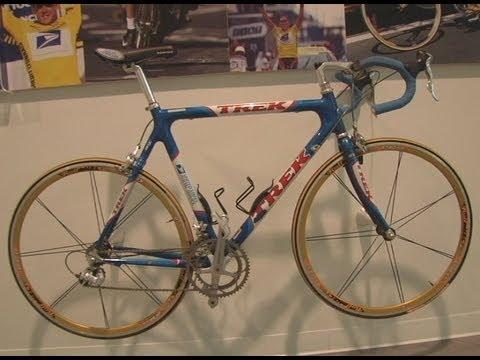 Lance Armstrong's Tour de France Bikes