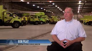 """""""Salt of the Earth"""" - Garmin Showcases Village of Niles Snow and Ice Removal"""