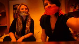 Download Singing with the Scarfs over our mouths 3Gp Mp4