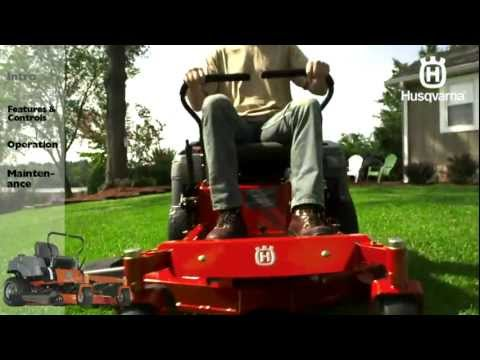Husqvarna RZ-series Zero Turn Mowers: Intro