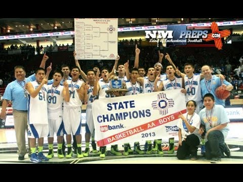 New Mexico High School Basketball Tournament: Laguna Acoma Wins 2A Boy's State Title