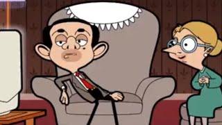 Watching TV | Funny Episodes | Mr Bean Cartoon World