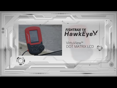 FishTrax 1X Handheld Fish Finder