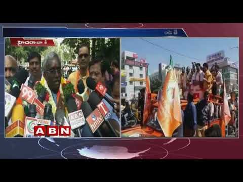 BJP MLA Candidate Yoganand Polls Campaign at Serilingampally | ABN Telugu