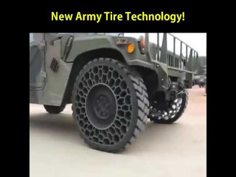 Pretty cool tyre technology
