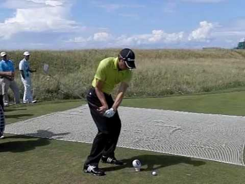 SERGIO GARCIA SLOW MOTION 6TH TURNBERRY OPEN 2009 2 Video