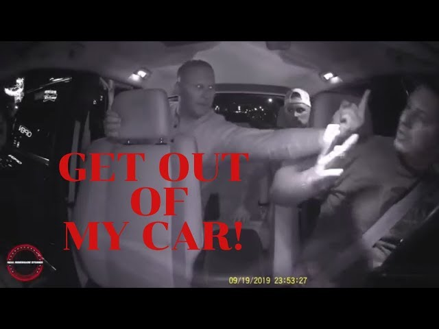 UBER- GET OUT OF MY CAR