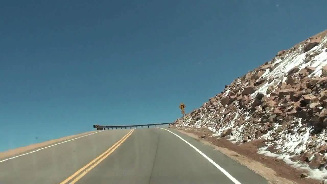 Hd Drive Up Pikes Peak Part 10 Of 21 High Definition