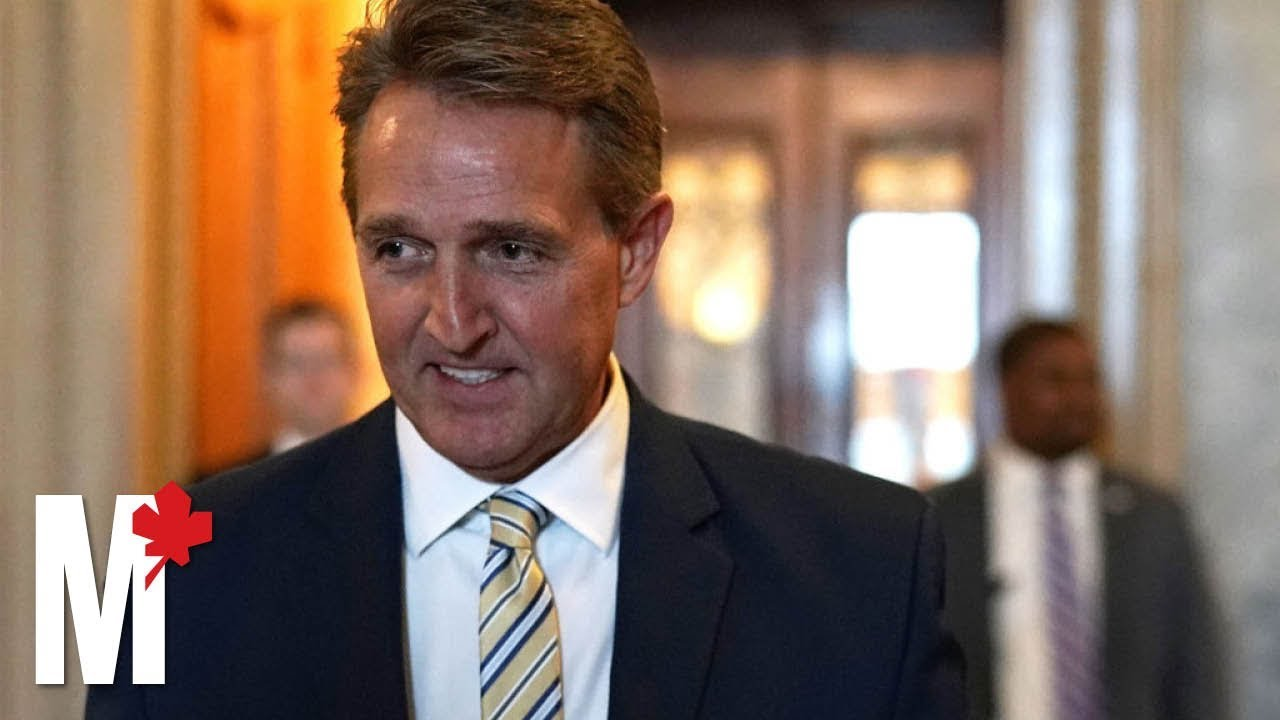 Sen. Jeff Flake compares Trump to Stalin for attacks on press