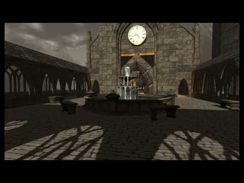 Hogwarts Castle in Second Life