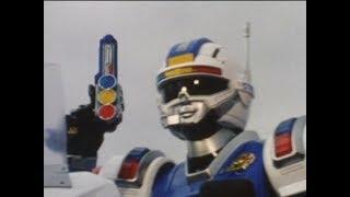 Power Rangers Turbo - The Millennium Message - Power Rangers vs Blue Senturion