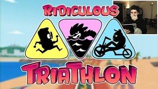 A Por El Record!!! - Ridiculous Triathlon -  [luzugames]