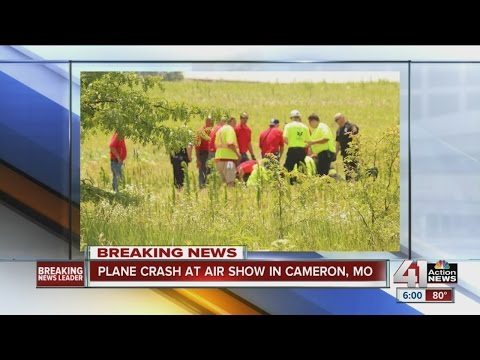 Pilot the only one injured in crash during Cameron Airshow