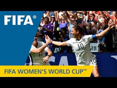 Women's World Cup TOP 10 GOALS: Carli Lloyd (USA v. Japan)
