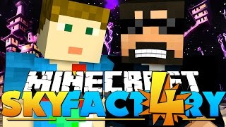 Minecraft: SkyFactory 4 -WILL YOU BE MY FRI-END?! [16]