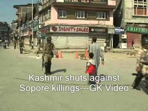 Kashmir shuts against Sopore killings
