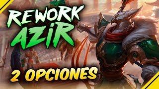 Rework AZIR ¿Qué 2 opciones planea RIOT?¿Nuevo RYZE?   Noticias League Of Legends LoL