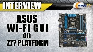 Newegg TV_ ASUS Wi-Fi GO! Demonstration on the Z77 Platform