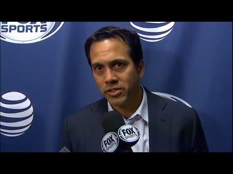 Erik Spoelstra -- Miami Heat vs. Boston Celtics postgame 4/13/16